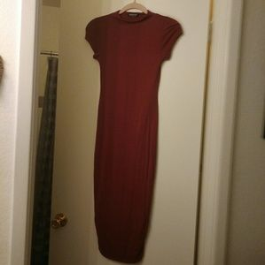 Long fitted dress size medium/Large